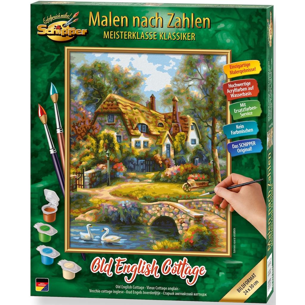 Schipper Malen nach Zahlen »Meisterklasse Klassiker - Old English Cottage«, Made in Germany
