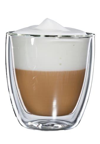 Bloomix Glas »Cappuccino Grande«, (Set, 4 tlg.), Doppelwandig, 4-teilig kaufen