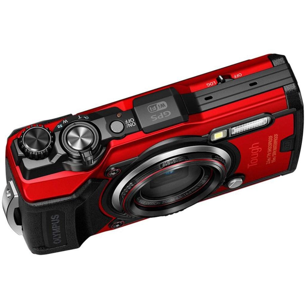 Olympus Outdoor-Kamera »Tough TG-6«, 12 MP, 4x opt. Zoom, WLAN (Wi-Fi)