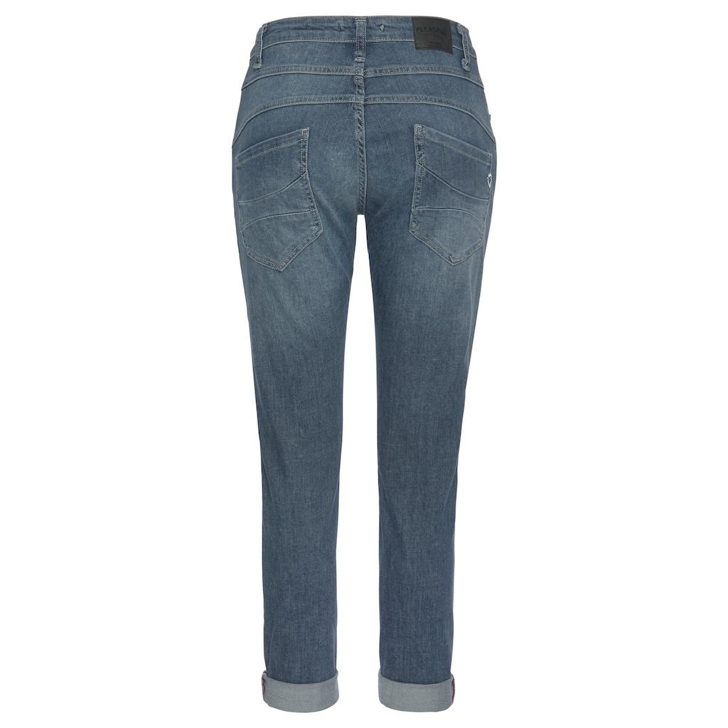 Please Jeans Boyfriend-Jeans »P 78A«, Original Boyfriend Cut mit Destroyed Effekten