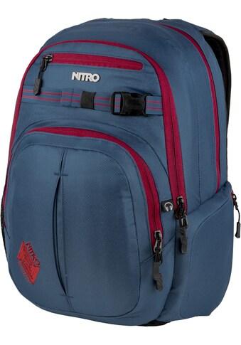 NITRO Schulrucksack »Chase, Blue Steel« kaufen