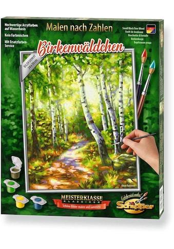 Schipper Malen nach Zahlen »Meisterklasse Klassiker - Birkenwäldchen«, Made in Germany kaufen