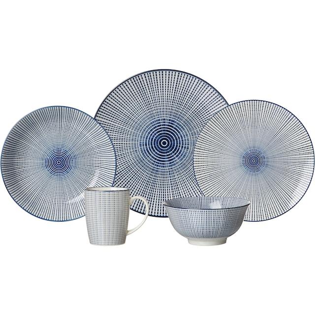 """Ritzenhoff & Breker Müslischale """"ROYAL MAKOTO"""", Keramik, (Set 4-tlg.)"""