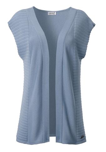 Casual Looks Strickweste mit überschnittenen Schultern kaufen