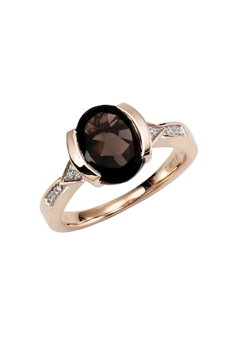 Diamonds by Ellen K. Ring »375/ -  Gold Rauchquarz mit Diamant 0,04ct.« kaufen