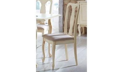 Home affaire Esszimmerstuhl »Queen«, mit schönen eleganten geschwungenen Beingestell... kaufen