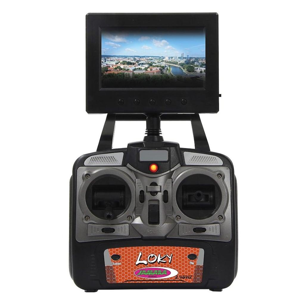Jamara RC-Quadrocopter »Loky«, mit Display und Kamera