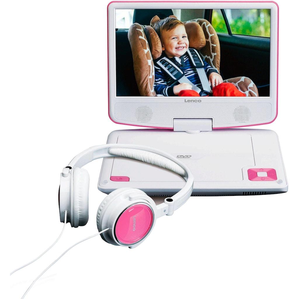 Lenco Portabler DVD-Player »DVP-910«