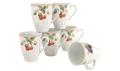 CreaTable Becher »Flora Orchard«, (Set, 6 tlg.), 6-teilig kaufen