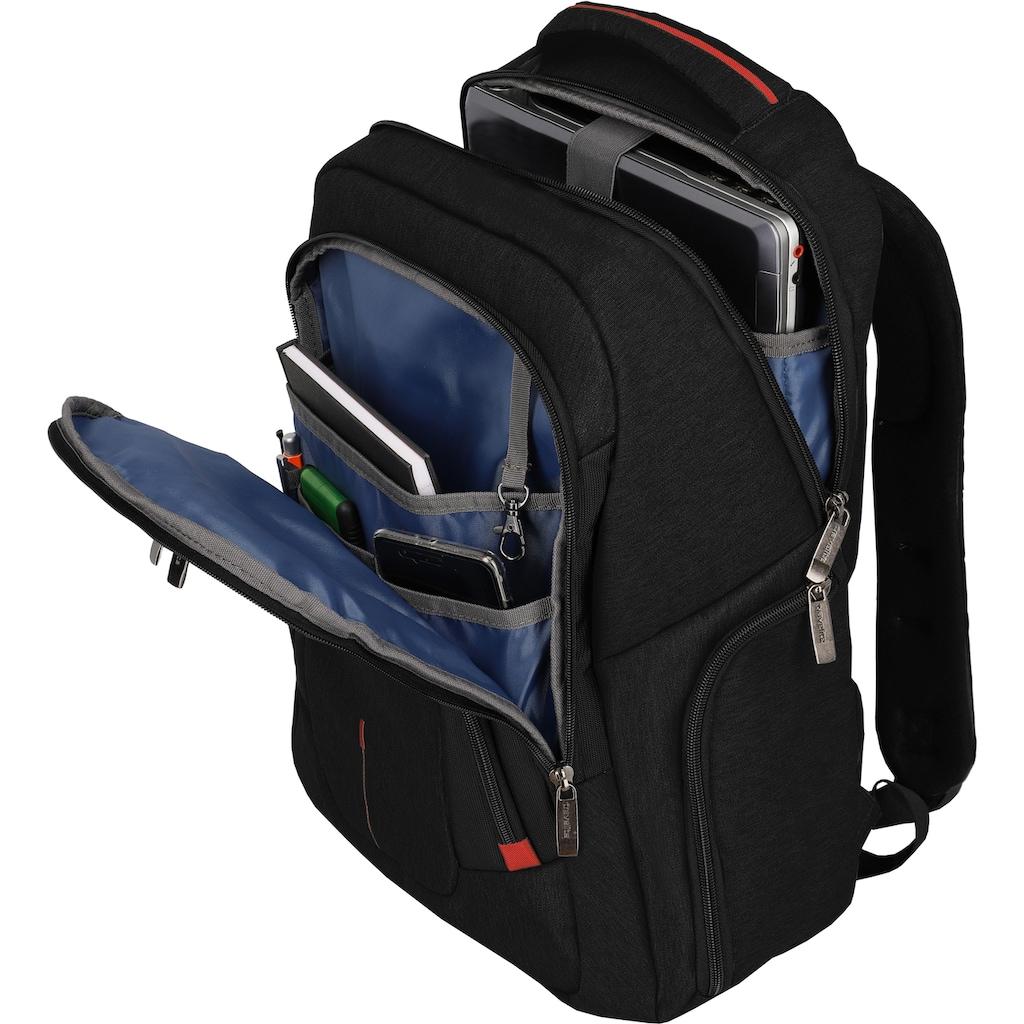 travelite Laptoprucksack »@work, 45 cm, schwarz«