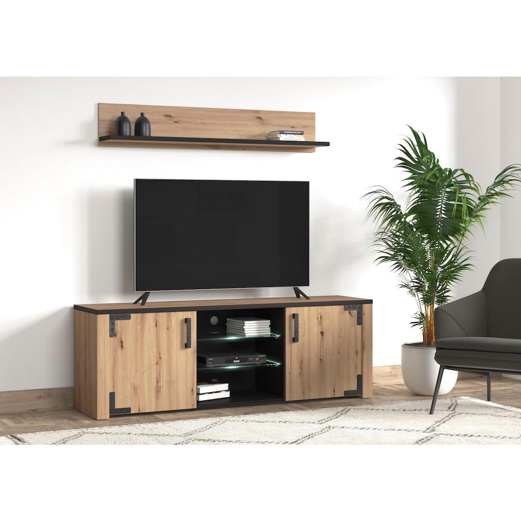 my home Lowboard »Lazio«, Breite ca. 168 cm