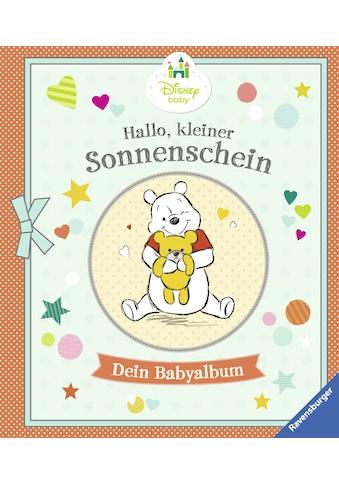 Buch »Disney Baby: Hallo, kleiner Sonnenschein - Dein Babyalbum / The Walt Disney... kaufen