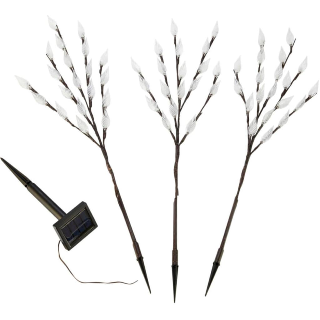 Gartenleuchte »Zweige«, Warmweiß, 3-tlg.