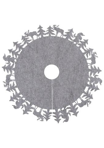 Baumteppich, »Wald«, , rund, Höhe 4 mm kaufen