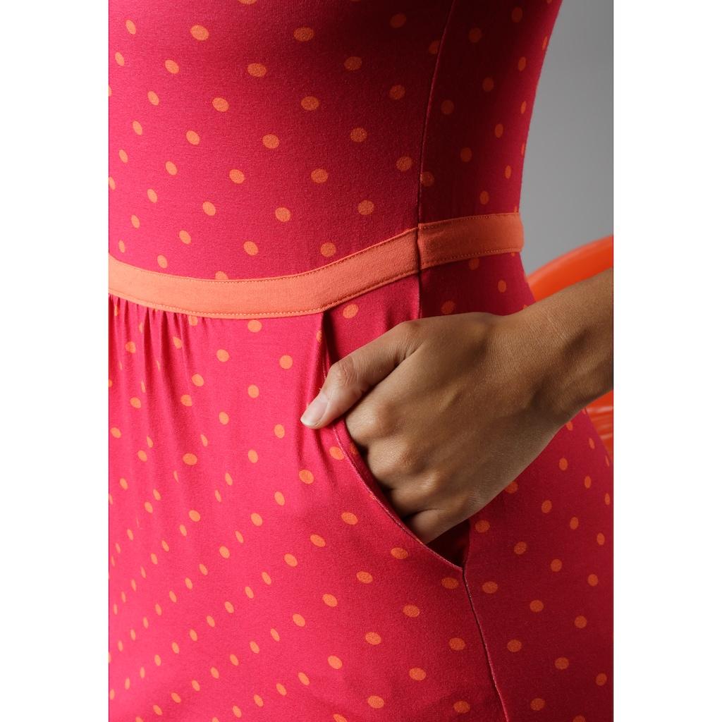 Aniston SELECTED Sommerkleid, im modischen Pünktchen - NEUE KOLLEKTION