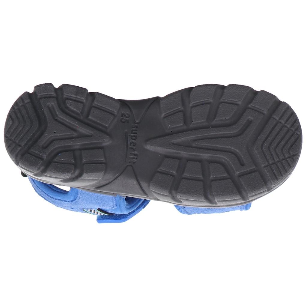 Superfit Sandale »Scorpius WMS Weiten-Messsystem: mittel«, mit Klettverschluss
