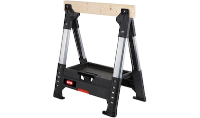 KETER Sägebock »ROC Lumber Jack«, höhenverstellbar, 1.360 kg Traglast kaufen
