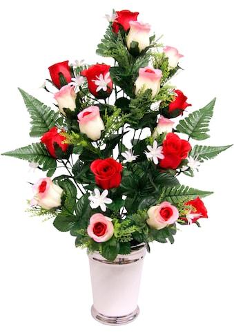 I.GE.A. Kunstpflanze »Rosen« (1 Stück) kaufen