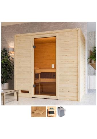 Karibu Sauna »Sunie«, 4,5-kW-Ofen mit int. Steuerung kaufen