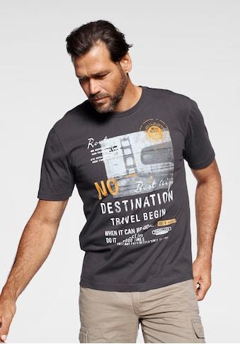 Man's World T-Shirt, Mit großem Motivprint kaufen