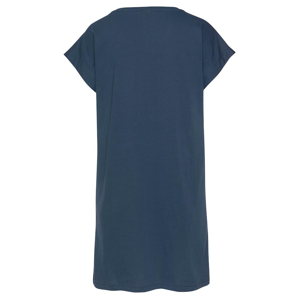 Vivance Dreams Sleepshirt, mit Galaxy-Muster