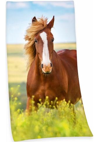 """Badetuch """"Pferd"""", Herding kaufen"""