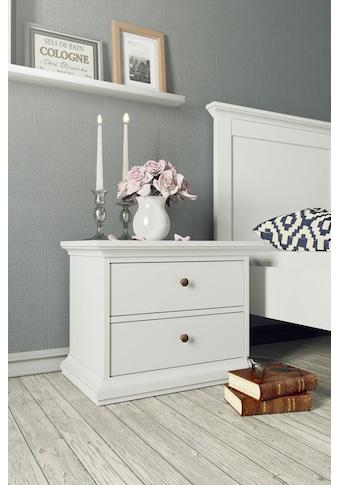 Home affaire Nachttisch »Paris«, erstrahlt in einer schönen Holzoptik, Auszüge auf... kaufen