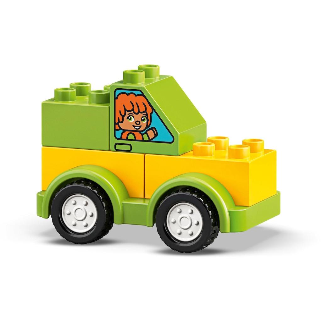 LEGO® Konstruktionsspielsteine »Meine ersten Fahrzeuge (10886), LEGO® DUPLO™«, (34 St.), Made in Europe