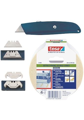 Bodenmeister Verlegeset, Messer, Klingen, Tesa Verlegeband (Teppich, Vinyl) kaufen