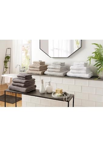 Handtuch Set, »Agnes«, andas (Set) kaufen