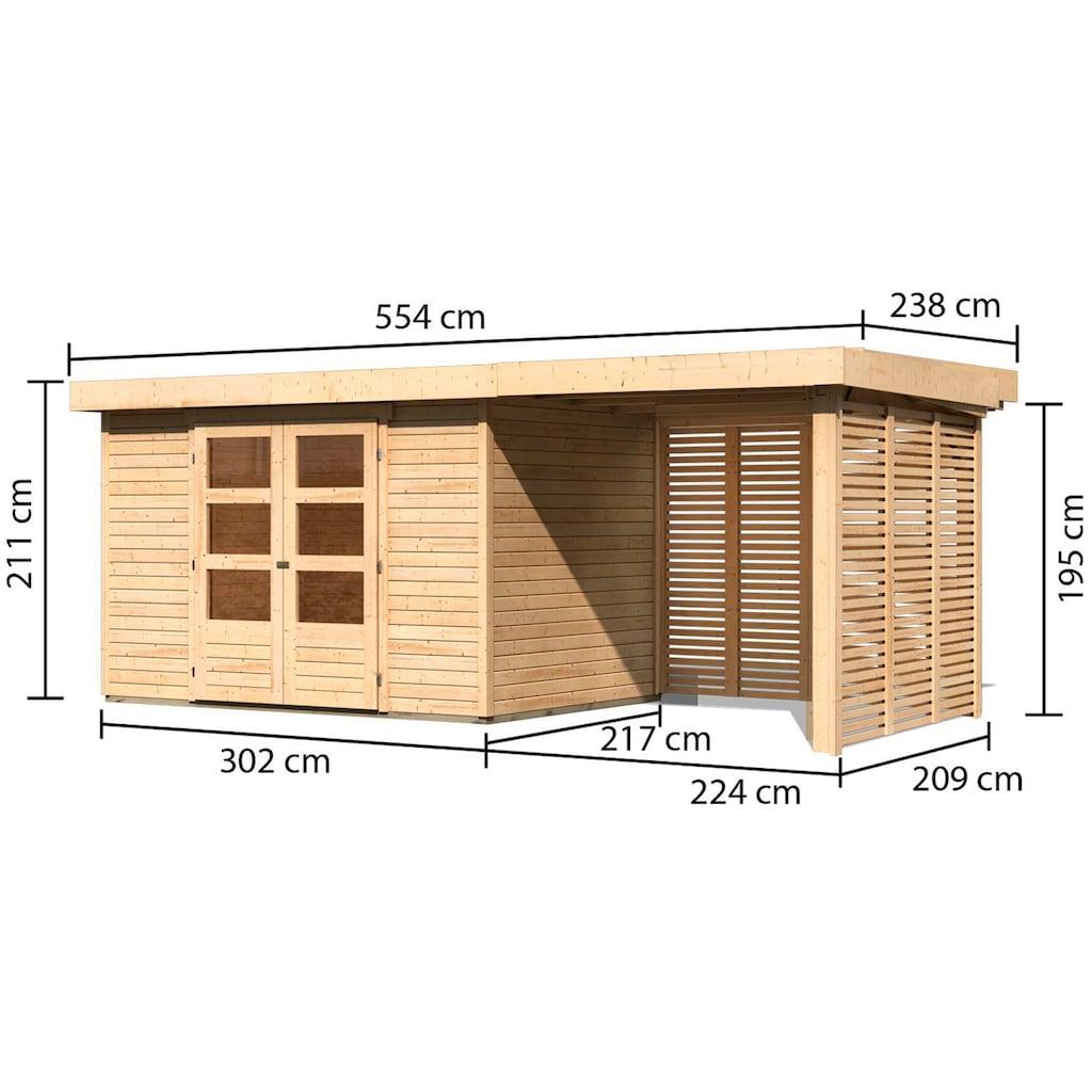 Karibu Gartenhaus »Arnis 4«