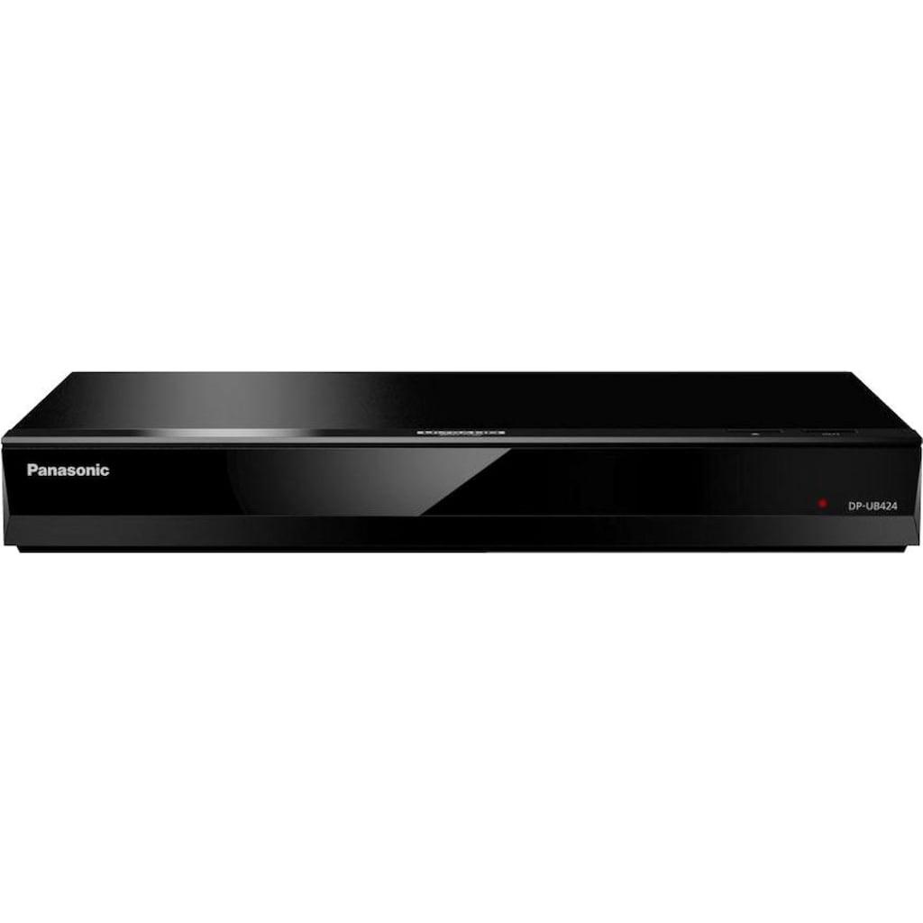 Panasonic Blu-ray-Player »DP-UB424EG«, 4k Ultra HD, WLAN-LAN (Ethernet), 3D-fähig-Sprachsteuerung über externen Google Assistant oder Amazon Alexa