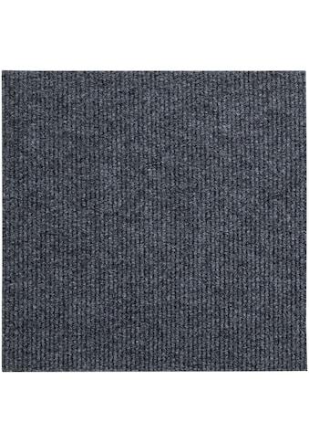 Andiamo Teppichfliese »Rippe«, rechteckig, 4 mm Höhe, 4 Stück (1 m²), selbstklebend,... kaufen