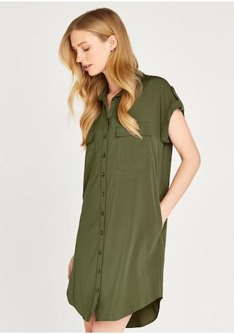 Apricot Hemdblusenkleid »Sleeveless Utility Shirt Dress«, mit aufgesetzten Taschen kaufen
