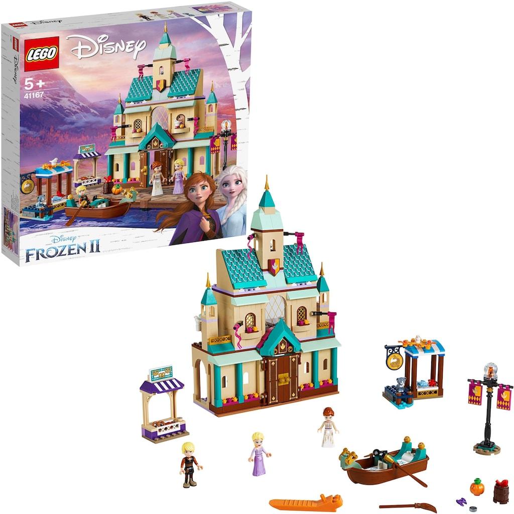 LEGO® Konstruktionsspielsteine »Schloss Arendelle (41167), LEGO® Disney Princess«, (521 St.)
