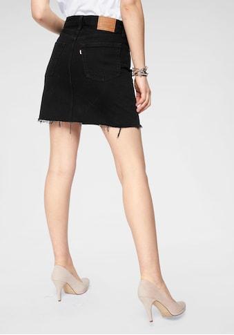 Levi's® Jeansrock »deconstructed Iconic Skirt« kaufen