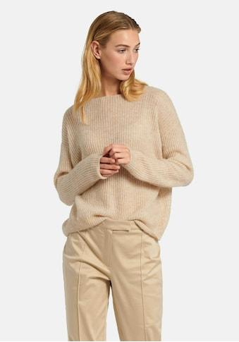 Uta Raasch Strickpullover »Pullover«, und überschnittener Schulter kaufen