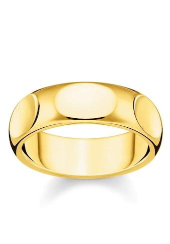 THOMAS SABO Fingerring »Puristisches Gold, TR2281 - 413 - 39 - 52, 54, 56, 58, 60« kaufen