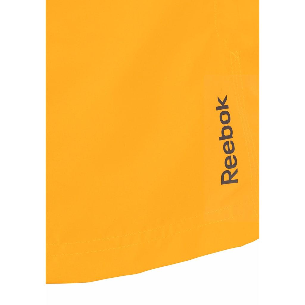 Reebok Badeshorts, mit seitlichen Eingrifftaschen
