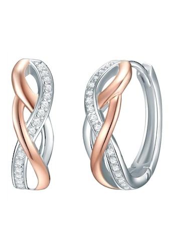 Rafaela Donata Paar Creolen »50110028«, mit Zirkonia kaufen