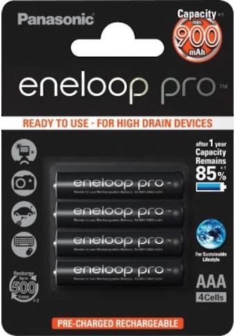 Panasonic Batterie »Eneloop Pro«, 1,2 V, (Packung) kaufen