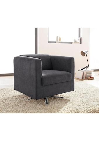 INOSIGN Sessel »Bob«, drehbar mit Sternfuß kaufen
