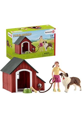 Schleich® Spielfigur »Farm World, Hundehütte (42376)« kaufen