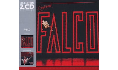Musik-CD »Emotional/Live Forever / Falco« kaufen