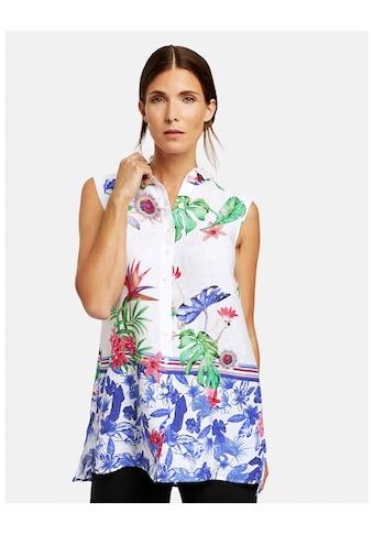 GERRY WEBER Bluse ohne Arm »Ärmellose Bluse mit Dschungel - Print« kaufen