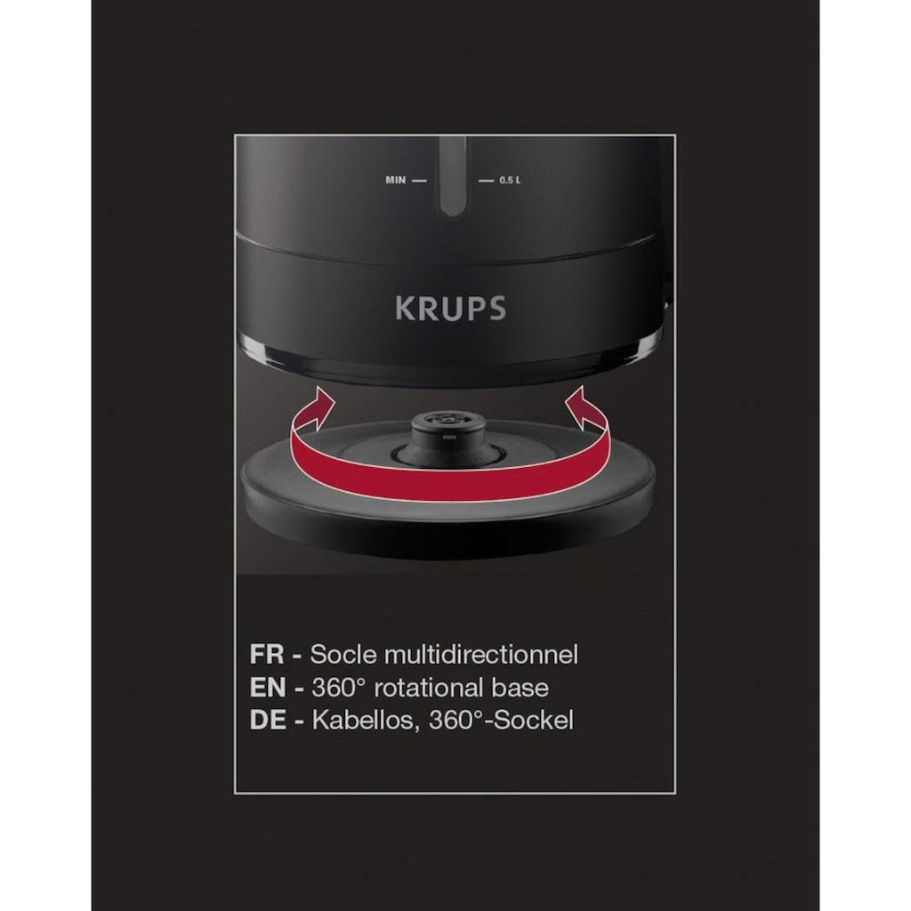 Krups Wasserkocher »BW2448«, 1,6 l, 2400 W