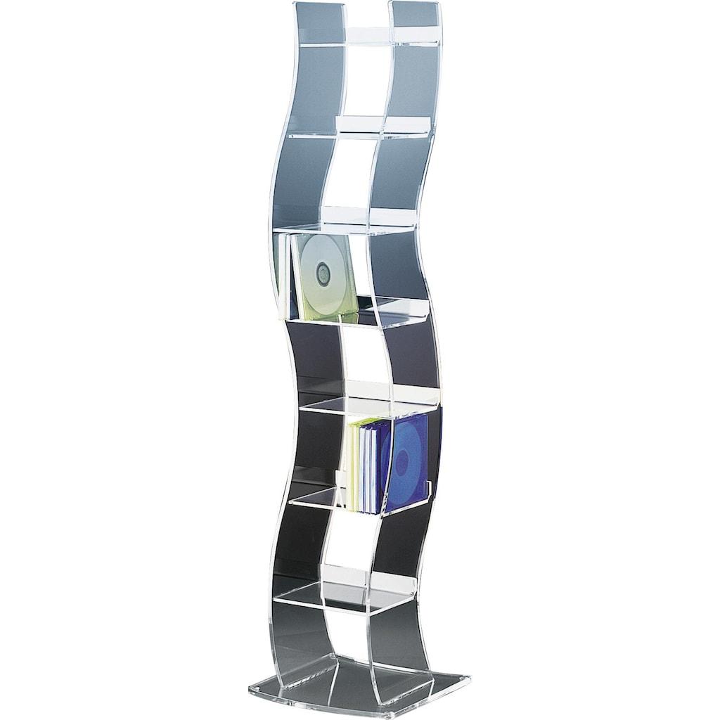 Places of Style CD-Regal »Remus«, aus Acrylglas