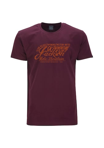 AHORN SPORTSWEAR T-Shirt »JACKSON ADVENTURE«, mit modischem Print kaufen
