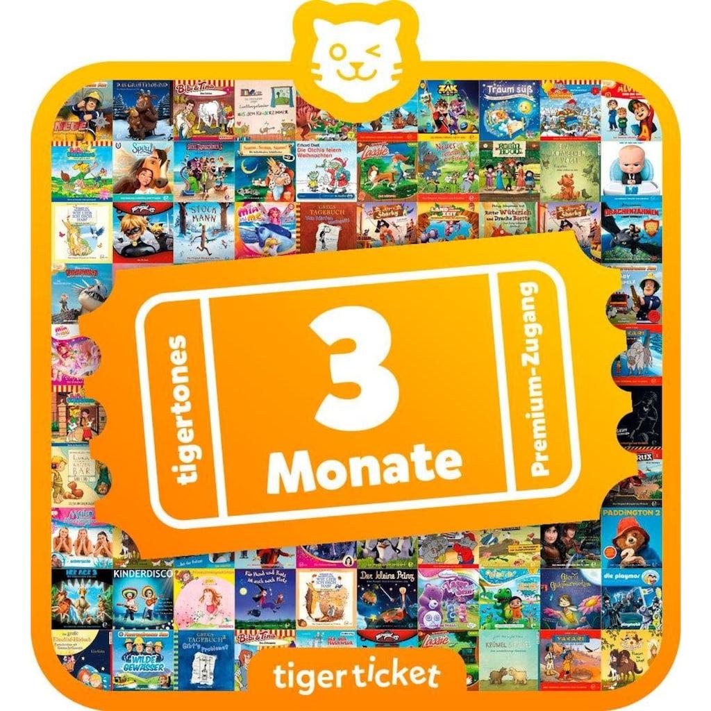 tigerbox Hörspiel »3 Monate tigertones Premium-Zugang«
