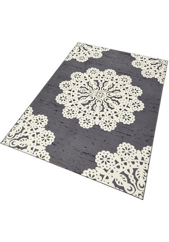 HANSE Home Teppich »Lace«, rechteckig, 9 mm Höhe, Kurzflor, ringsum gekettelt, Wohnzimmer kaufen
